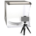 Orangemonkie Mini Turntable Foldio360 with LED photo tent and tripod