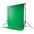 Background System with Vinyl Chroma Key Green 2,75m