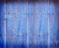 Click Props Vinyl with Print Blue Corrugated Steel 3.00 x 2.44M