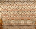 Click Props Vinyl with Print Old Rural Brick Wall 3.00 x 2.44M