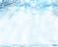 Click Props Vinyl with Print Winter Scene 3.00 x 2.44M
