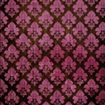 Click Props Background Vinyl with Print Damask Dark Pink 1.52 x 1.52M