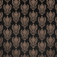 Click Props Background Vinyl with Print Damask2 B Gold 1.52 x 1.52M