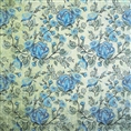 Click Props Background Vinyl with Print Rose Blue 1.52 x 1.52M