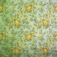 Click Props Background Vinyl with Print Rose Yellow 1.52 x 1.52M