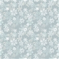 Click Props Background Vinyl with Print Snowflake Grey 1.52 x 1.52M