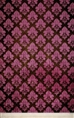 Click Props Background Vinyl with Print Damask Dark Pink 1.52 x 2.44M