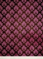 Click Props Background Vinyl with Print Damask Dark Pink 2.13 x 2.90M