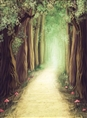 Click Props Background Vinyl with Print Fantasy Forest 2.13 x 2.90M