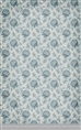 Click Props Background Vinyl with Print Floral Wallpaper Blue 1.52 x 2.44M