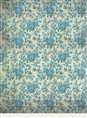 Click Props Background Vinyl with Print Rose Blue 2.13 x 2.90M