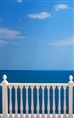 Click Props Background Vinyl with Print Sea View 1.52 x 2.44M