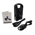 Rolux Dual Battery Charger RL-2KS for V-Mount Battery