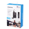 Boya 2.4 GHz Lavalier Microphone Wireless BY-WM4 Pro-K5 for Android
