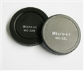 Pixel Lens Rear Cap MC-22B + Body Cap MC-22L for Micro Four Thirds