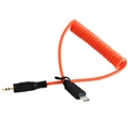 Miops Camera Connecting Cable Sony S2 Orange