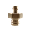 "StudioKing Spigot Adapter MC-1060 1/4"" Male 3/8"" Male"