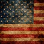 f Click Props Background Vinyl with Print American Flag 1.52 x 1.52M
