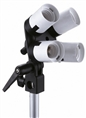 Linkstar Lampholder LH-4U + Umbrella Holder + Tilting Bracket