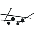 Falcon Eyes Ceiling Rail System B-3030C 3x3 m incl. 4 Pantographs