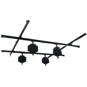 f Falcon Eyes Ceiling Rail System B-3030C 3x3 m incl. 4 Pantographs
