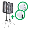 Falcon Eyes Flexible LED Panel RX-12T 30x45 cm Set 2