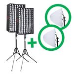 f Falcon Eyes Flexible LED Panel RX-12T 30x45 cm Set 2