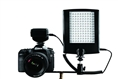 Falcon Eyes LED Lamp with Flash DV-120FV on Penlite