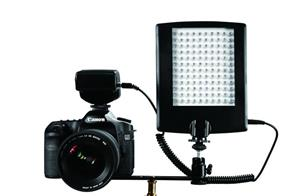 f Falcon Eyes LED Lamp with Flash DV-120FV on Penlite