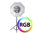 Falcon Eyes RGB LED Lamp RX-782 with Foldable Softbox 100 cm