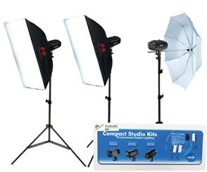 f Falcon Eyes Studio Flash Set SSK-3200D with Bag with Trigger set
