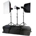 Falcon Eyes Studio Flash Set TFK-3400A with Bag