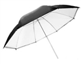 Falcon Eyes Jumbo Umbrella URN-T86TSB1 Transparent White + Silver/Black Cover 216 cm