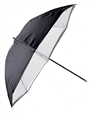 Falcon Eyes Umbrella URN-32TWB Transparent White + Black Cover 80 cm