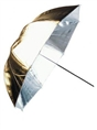 Linkstar Umbrella PUK-102GS Silver/Gold 120 cm (reversible)