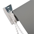 Id Photo Roller Blind Grey