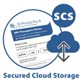 IdPhotos Secured Cloud Storage Service for 1 year