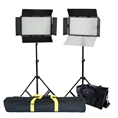 Falcon Eyes LED Lamp Set Dimmable DV-384CT with Lightstand and Bag