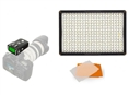 Pixel LED Lamp Set Dimmable DL-913 with Pixel King Pro voor Canon