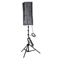 Linkstar Flexible 5600K LED Panel RX-9T with Softbox, Honeycomb and Tripod