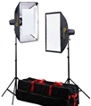 Linkstar Studio Flash Kit DLK-2350D Digital with Bag
