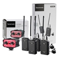 Saramonic Duo Microphone Kit Wireless SR-WM4C with Audiomixer AX100