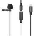 Boya Clip-on Lavalier Microphone BY-M2 for iOS