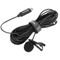 Boya Clip-on Lavalier Microphone BY-M3 for USB-C