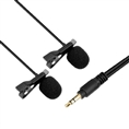 Boya Dual Pro Lavalier Microphone BY-LM300 for DSLR, Camcorders and BY-WM Series