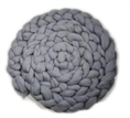 Newborn Mohair Wool Nest Grey MWNG 300 x 6 cm