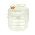 UST Accordion Water Carrier Clear 8L