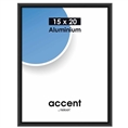 Nielsen Photo Frame 51326 Accent Frosted Black 15x20 cm