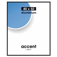 Nielsen Photo Frame 52526 Accent Frosted Black 40x50 cm
