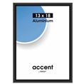 Nielsen Photo Frame 53226 Accent Frosted Black 13x18 cm